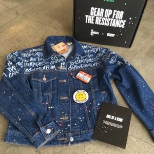 Levi's limited edition Handmaids tale denim jacket
